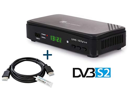 Univision UNC2 HD Kabelreceiver digital DVB-C HDTV HDMI Full HD 1080p SCART USB