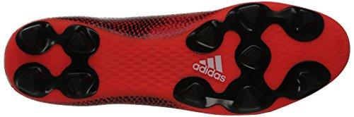 adidas F5 FG, M Herren Solar Red/Running White/Black