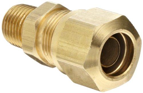 EATON Weatherhead 1468X8X4 Air Brake Tubing Male Connector, 1/2 Tube OD, 1/4 Male Pipe Thread by Weatherhead -