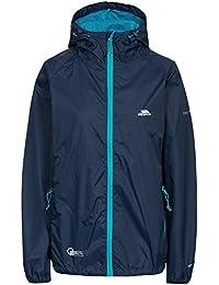 Trespass Womens/Ladies Qikpac Waterproof Packaway Shell Jacket (XL) (Navy)