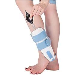 CHENG Knöchel-Klammer-Aufblasbarer Knöchel-Schutz Kann Pflaster-Verstauchungs-Örtlich Festgelegte Schiene Ersetzen,Blue,Inflatable