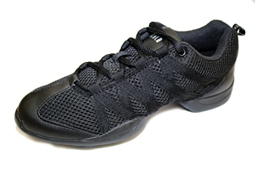 Bloch Criss Cross, Scarpe da Jazz Ragazza, Nero (Nero), EU 36.5, UK 3.5, US 6.5