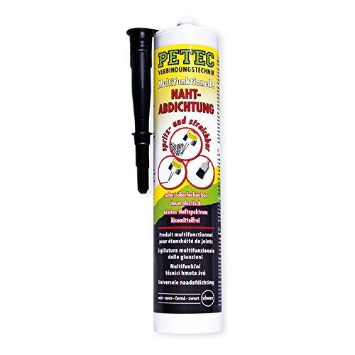 Preisvergleich Produktbild Petec 94231 Multifunktionelle Nahtabdichtung,  290 ml,  Schwarz