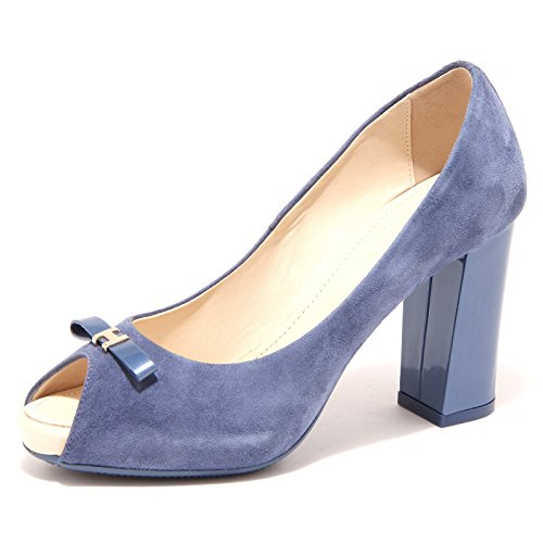 42662 decollete spuntato HOGAN scarpa donna shoes women Bluette