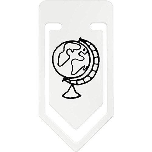 Azeeda 141mm 'Globo Terraqueo' Clip de Papel Plástico Gigante (CC00031016)