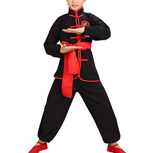 besbomig Student Kinder Klettern Chinesisch Traditionelle Tai Chi Uniform Kung FU Anzüge Kinder Uniformen Kimono - Kung Fu Uniform