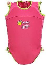 Vine Kinderschwimm Float Suit Schwimmhilfe Neopren Anzug 2-teilig Mädchen Swim Trainer Wear