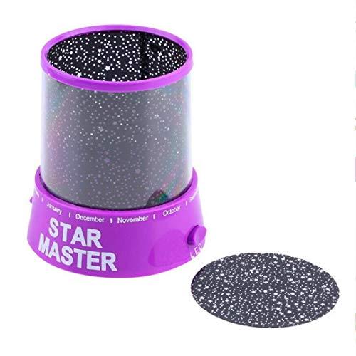 MTX Ltd Nachtlicht Luz Nocturna Proyector Cielo Estrellado Estrella Luna NI & Ntilde; Os Beb & Eacute; Sue & Ntilde; o Rom & Aacute; Ntico Colorido Led USB L & Aacute; Mpara De Proyecci & Oacute; n