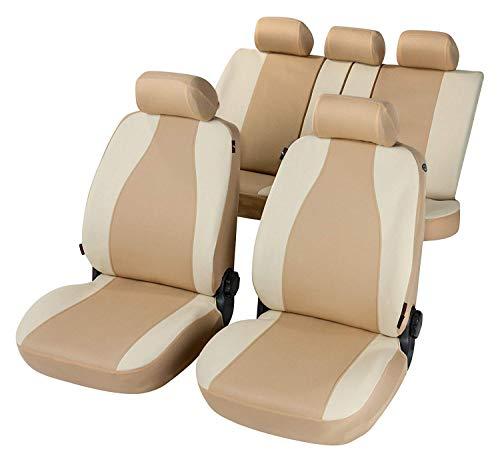 rmg-distribuzione Coprisedili per Qashqai Versione (2006-2014) compatibili con sedili con airbag, bracciolo Laterale, sedili Posteriori sdoppiabili R31S0598