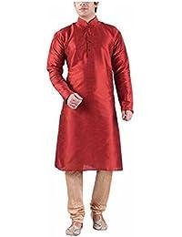 Royal Men's Silk Blended Long Kurta's