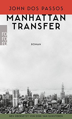 Buchseite und Rezensionen zu 'Manhattan Transfer' von John Dos Passos