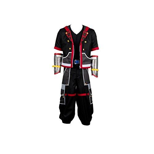 Kingdom Hearts III Protagonist Sora Uniform Cosplay Kostüm Herren L