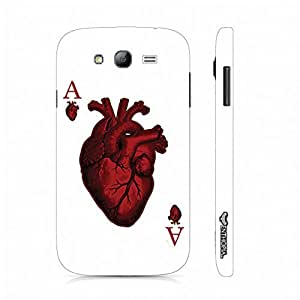 Samsung Galaxy Core Prime Ace of Hearts designer mobile hard shell case by Enthopia