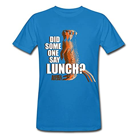 Animal Planet Meerkat Did Someone Say Lunch Men's Organic T-shirt by Spreadshirt®‎, XXL,