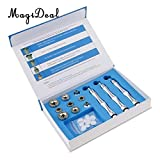 Generic 9 Tips 3 Wands Cotton Filters Diamond Microdermabrasion Dermabrasion Machine Tips Cotton