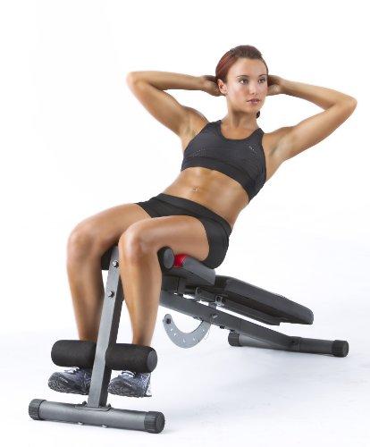 Weider Pro 255L Banc de Musculation inclinable (plat-incliné-décliné), poids max utilisateur 140kg