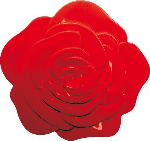 Zak Designs 0078-0901 Dessous de Plat Rose Rouge