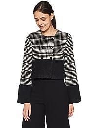 Elle by Unlimited Women's Wool Reefer Jacket