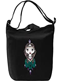 Tiger Lilly Dreamcatcher Bolsa de mano Día Canvas Day Bag| 100% Premium Cotton Canvas| DTG Printing|