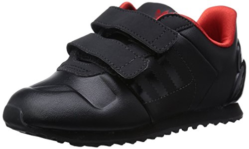 Baskets adidas Originals ZX 700 Dark Vador pour b�b� gar�on en noir