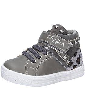 KRIZIA Sneakers Bambina Grigio Pelle Camoscio Cavallino