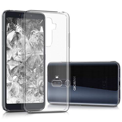 kwmobile Alcatel 3V Hülle - Handyhülle für Alcatel 3V - Handy Case in Transparent