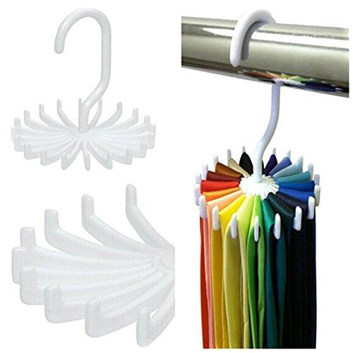 Tie Hanger (Yinew Kleiderbügel Kunststoff Tie, Fell Schal Hanger Tie Rack Organizer Veranstalter)