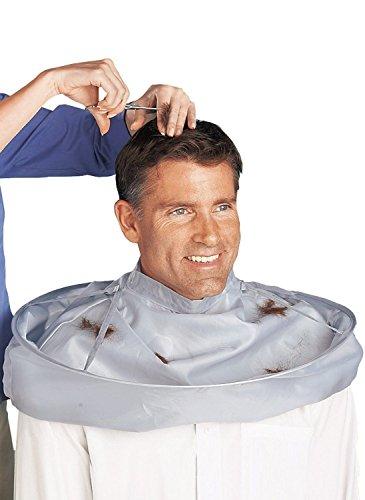 Preisvergleich Produktbild luckkyy® Haar Schneiden Umhang Regenschirm Cape Salon Barber Friseurumhang Familie für Erwachsene B