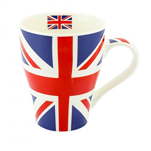 En Porcelaine anglaise Motif Union Jack