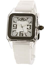 EX The Alter Ego Watch with White Dial and Silicone Strap EX-32-L11