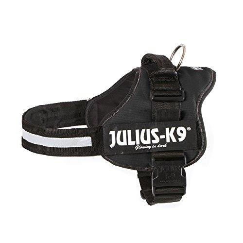 JULIUS-K9, 162P2, K9-Powergeschirr, Größe: 2, schwarz