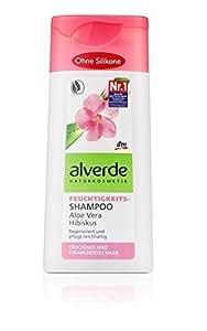 Alverde - Shampoing Hydratant - Aloé Vera & Hibiscus - bio - 200 ml