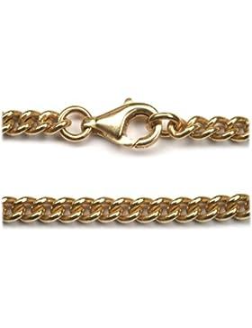 Bronzekette Schmuck Halskette mit Anlaufschutz 3mm Stärke, diverse Längen Wikinger Schmuck Bronze