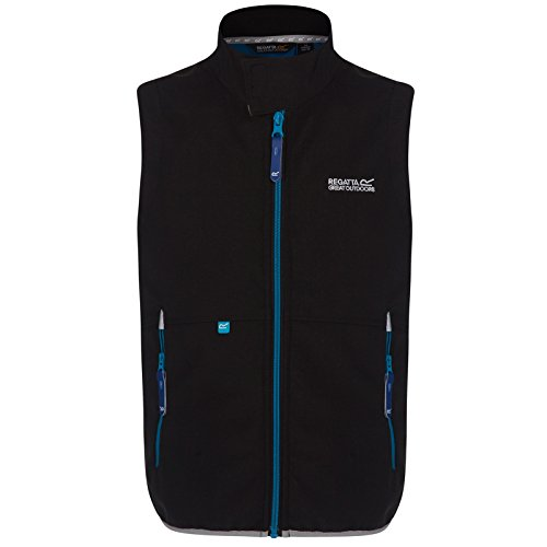 Regatta Kaluga Softshell Vest Kids - black