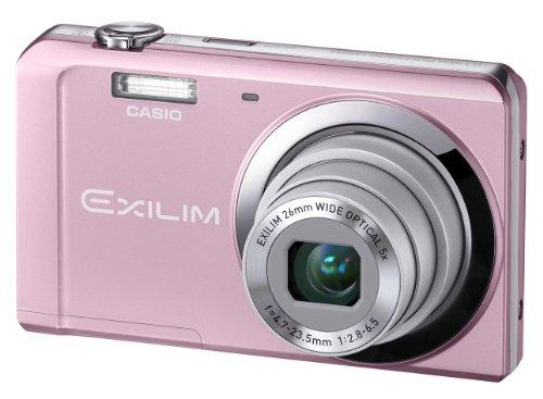 Casio Exilim EX-ZS5 Digitalkamera (14 Megapixel, 5-fach opt. Zoom, 7,6 cm (3 Zoll) Display) rosa