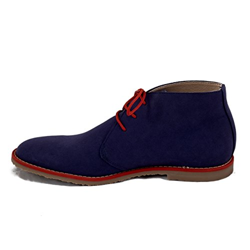 NAE Lagos Blau - Herren Vegan Stiefel - 4