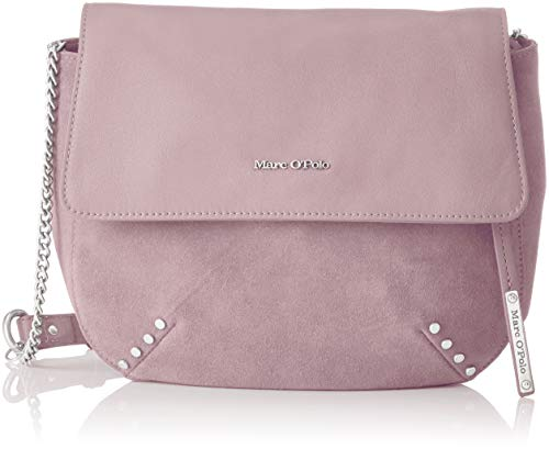 Marc O'Polo 81018190702301, Borsa a tracolla Donna, Rosa (Rosa (muted pink 327)), 7x27x30 cm (B x H x T)