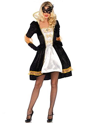 Avenue Piraten Herren Kostüm Leg - Wonderland W5039801101 Masquerade Ball Damenkostüme, Damen, Mehrfarbig, Größe S (EUR34-36)