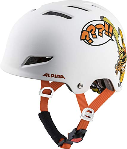 Alpina Jungen Park JR. Fahrradhelm, Disney Donald Duck, 51-55 cm - Helm Disney