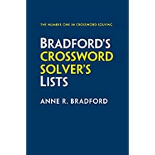 Collins Bradford's Crossword Solver's Lists