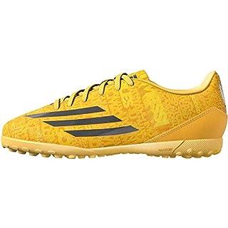 adidas Performance Boys Kids F10 Messi Turf Football Trainers - 1 Yellow