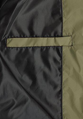 BLEND Nilo Herren Steppweste Weste mit Kapuze aus hochwertiger Materialqualität Burnt Olive (77011)