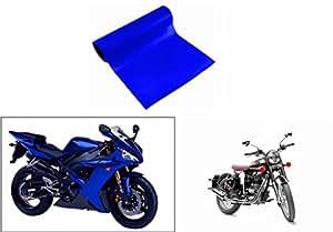 Speedwav 3mtr Bike Wrap Sheet Gloss Blue-Royal Enfield Classic 350
