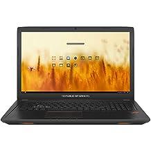 """ASUS GL753VD-GC009 - Ordenador Portátil de 17.3"""" Full HD IPS (Intel Core i7-7700HQ , 8 GB RAM, 1 TB HDD, Nvidia GeForce GTX 1050 de 4 GB, Endless OS (Inglés)) Metal Negro - Teclado QWERTY Español"""