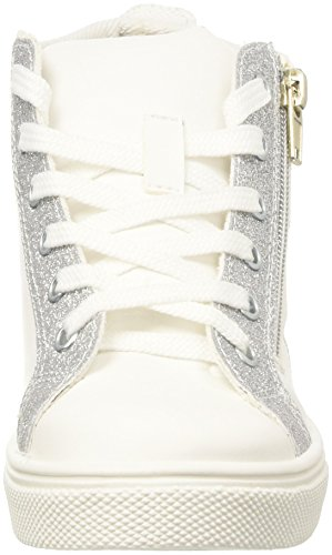 North Star 3241278, baskets montantes fille Bianco