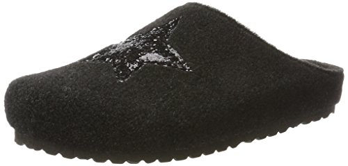 Supersoft Damen 522 223 Pantoffeln, Schwarz (Black), 38 EU