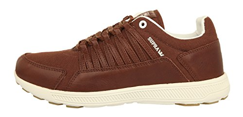 Supra Sneakers OWEN Chocolate-Off White S50077 Marron