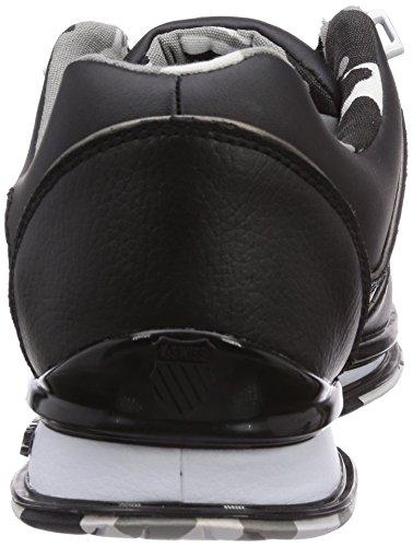 K-Swiss - RINZLER SP, scarpe da ginnastica  da uomo Nero (Schwarz (BLACK/CAMO 089))