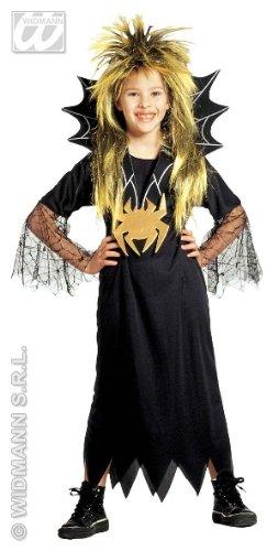 KINDERKOSTÜM - SPIDER GIRL - Größe 128 (S) (Spider Girl Kostüm Baby)