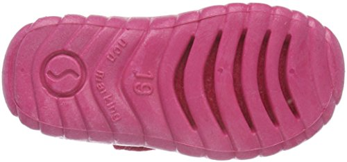pink 63 800293 Hohe Hausschuhe Mädchen Happy Superfit Pink axfq08YFw